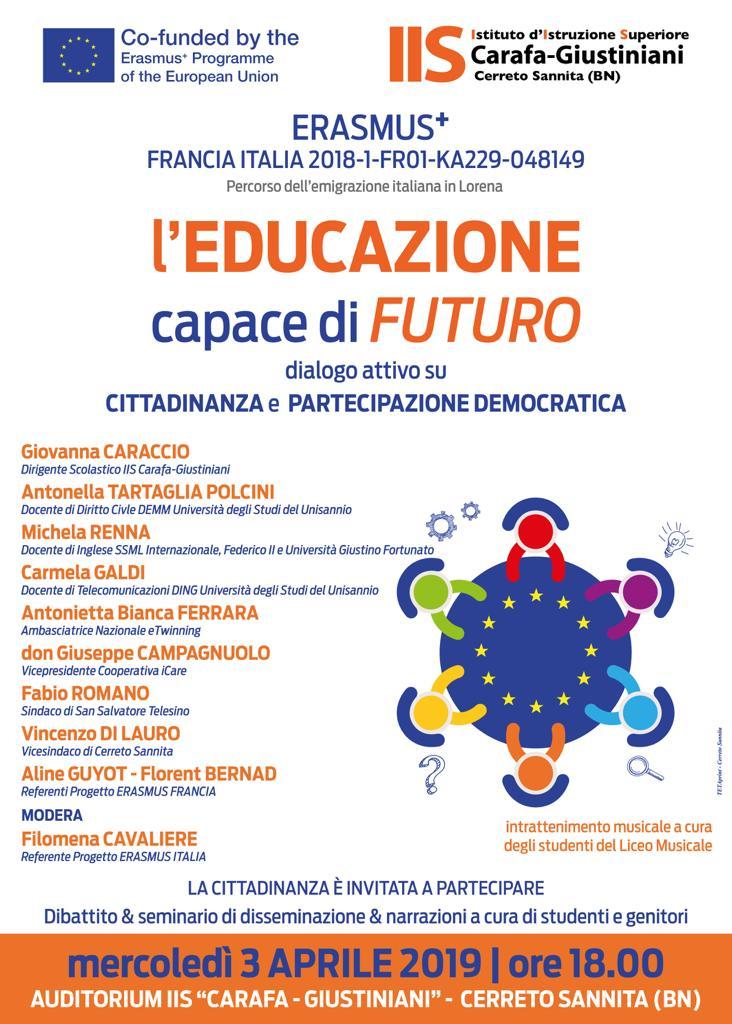 Educazione capace di futuro