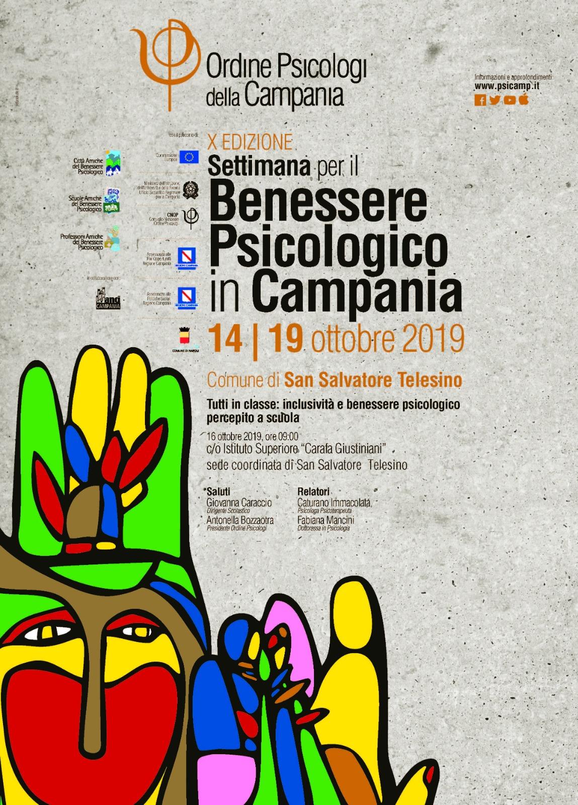 Benessere Psicologico in Campania